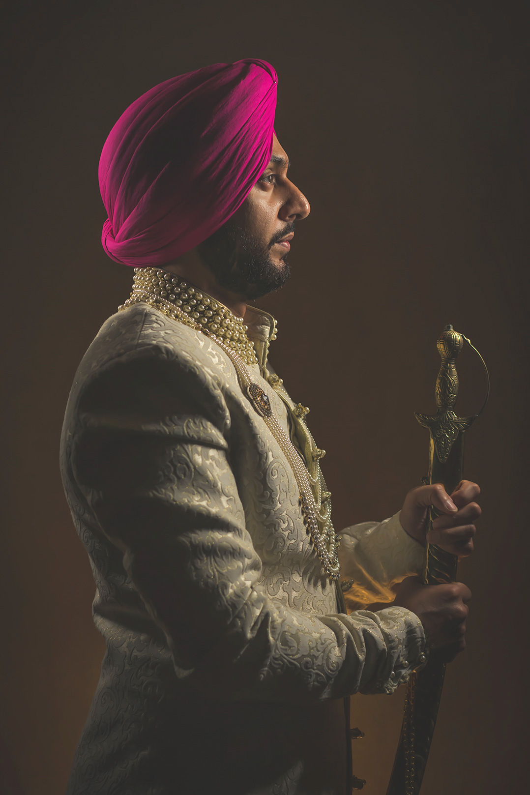 Sikh Groom in Dubai Indian Wedding