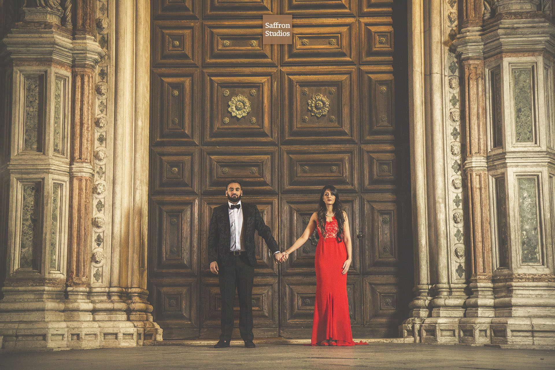 Venice Preshoot Indian Destination Wedding Photography